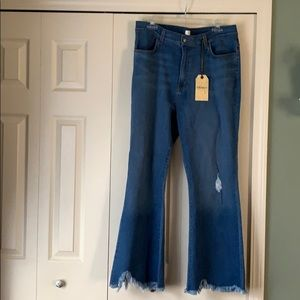 Chewed Up Kickflare Jeans